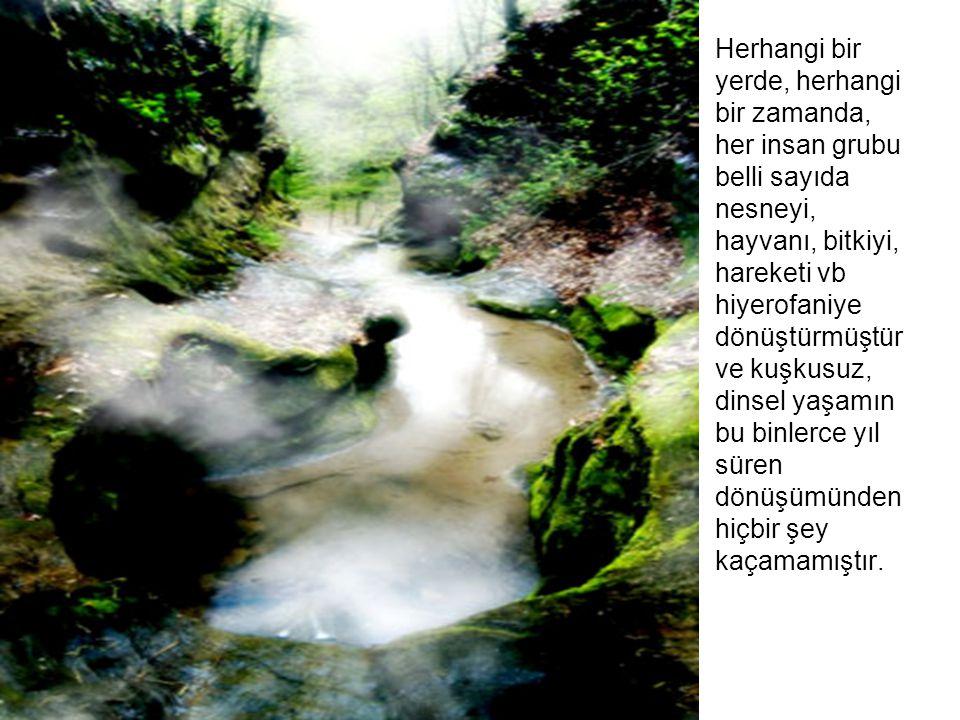 İnsanlık, belirli dönemlerde, günahları nedeniyle su altında kalarak yok olur.