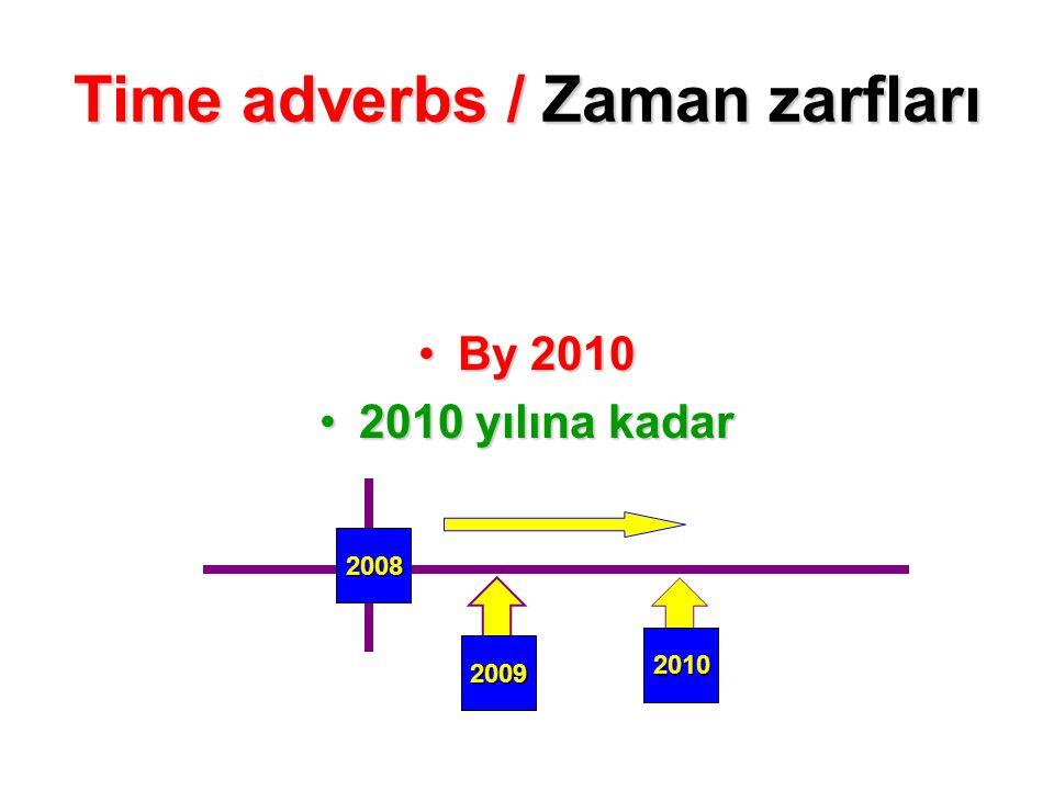 By 2010By 2010 2010 yılına kadar2010 yılına kadar 2008 2009 2010