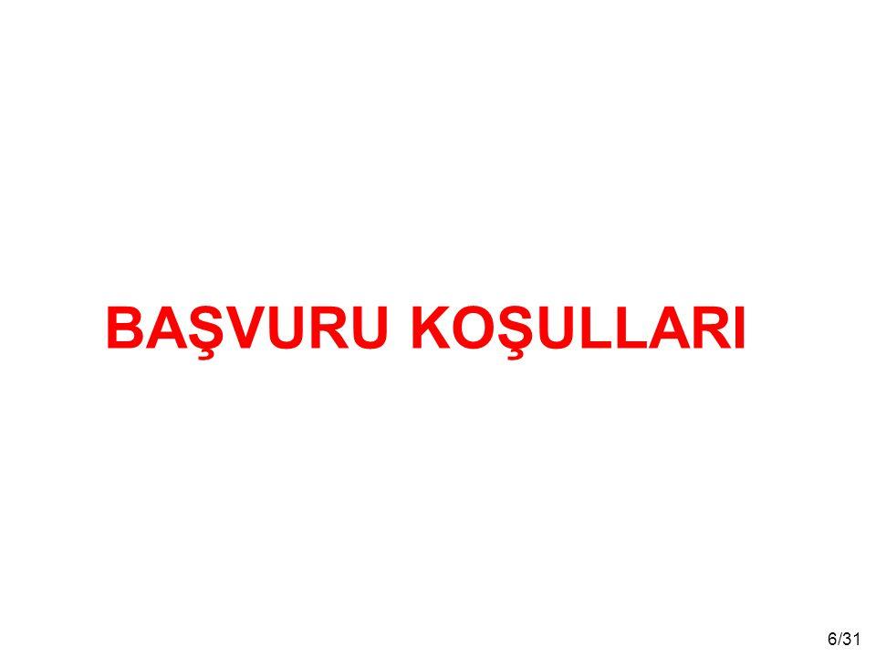 27/31 Sağlık Muayenesi * Başarılı olan adaylar İstanbul'daki askerî hastanelere sağlık muayenesine sevk edilirler.