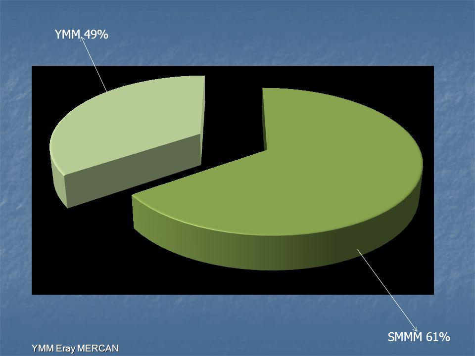 YMM 49% SMMM 61% YMM Eray MERCAN