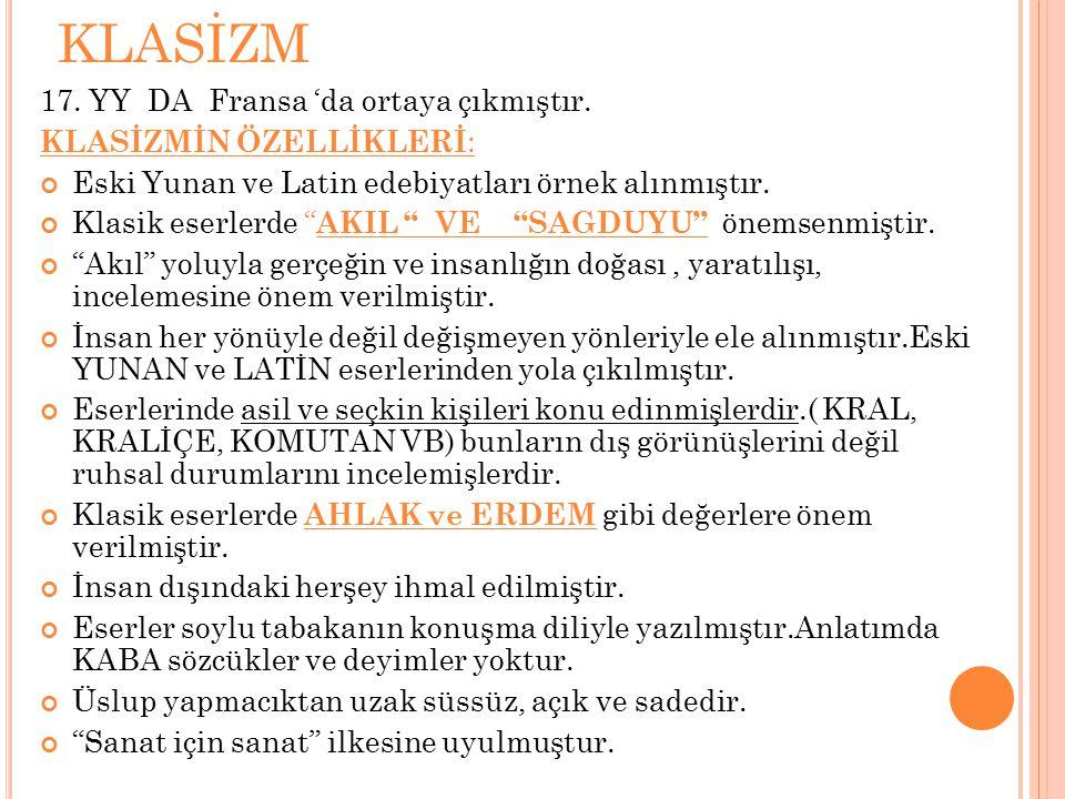 ROMANTİZM 19.
