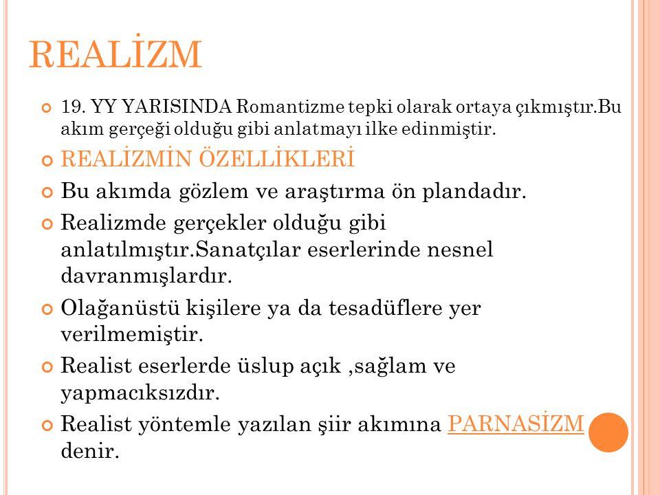 REALİZM 19.