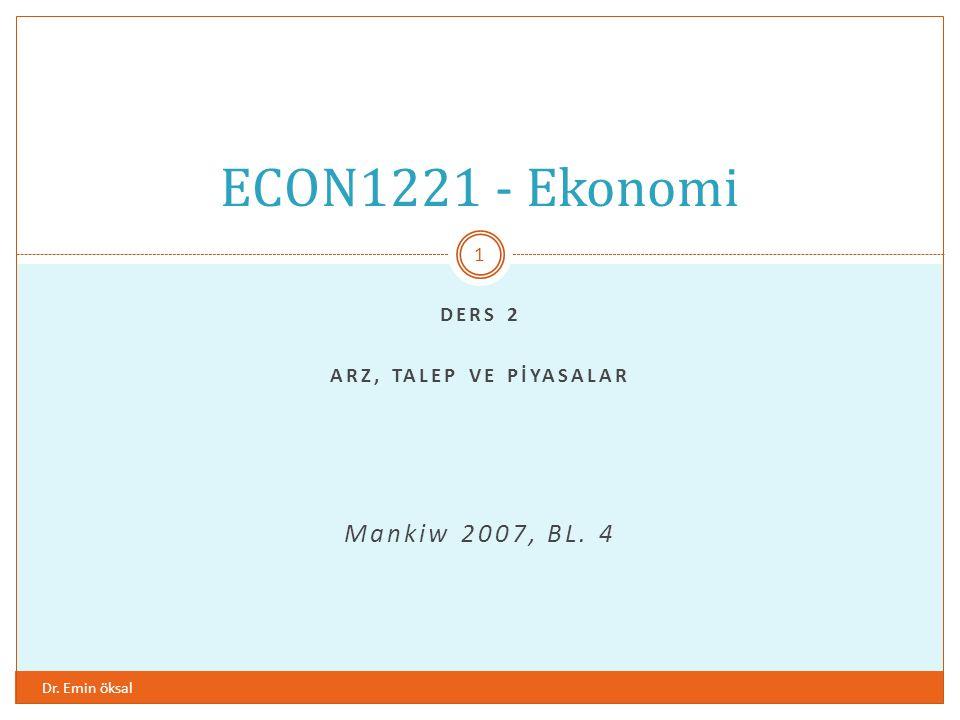 1 5 Fiyat Miktar 0 S 1.00 A C TL-3.00 Malın fiyatındaki artış sadece arz eğrisi üzerinde bir harekete sebep olur.