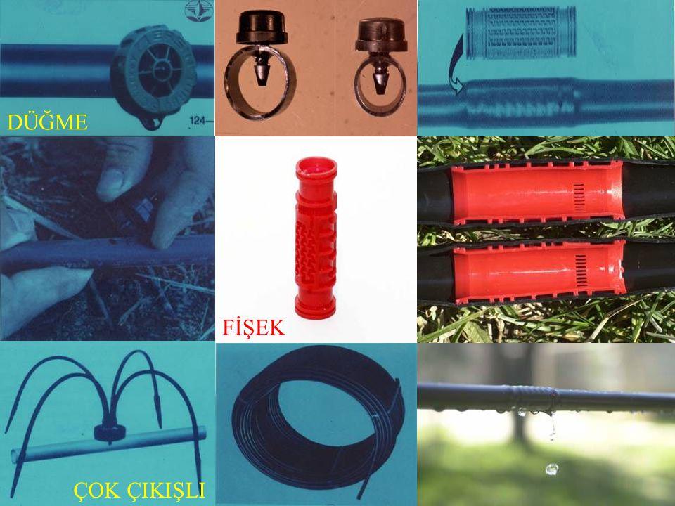 YERALTI SU KAYNAKLARINDA KULLANILABİLECEK FİLTRE TİPLERİ DÜŞÜK DÜZEYDE KİRLİLİK Hidrosiklon Disk filtre YÜKSEK DÜZEYDE KİRLİLİK Hidrosiklon Gravel filtre Disk filtre Çökeltme havuzu