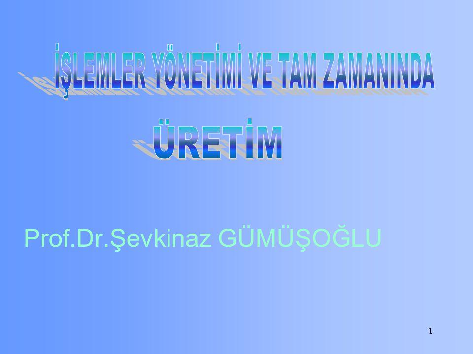 1 Prof.Dr.Şevkinaz GÜMÜŞOĞLU