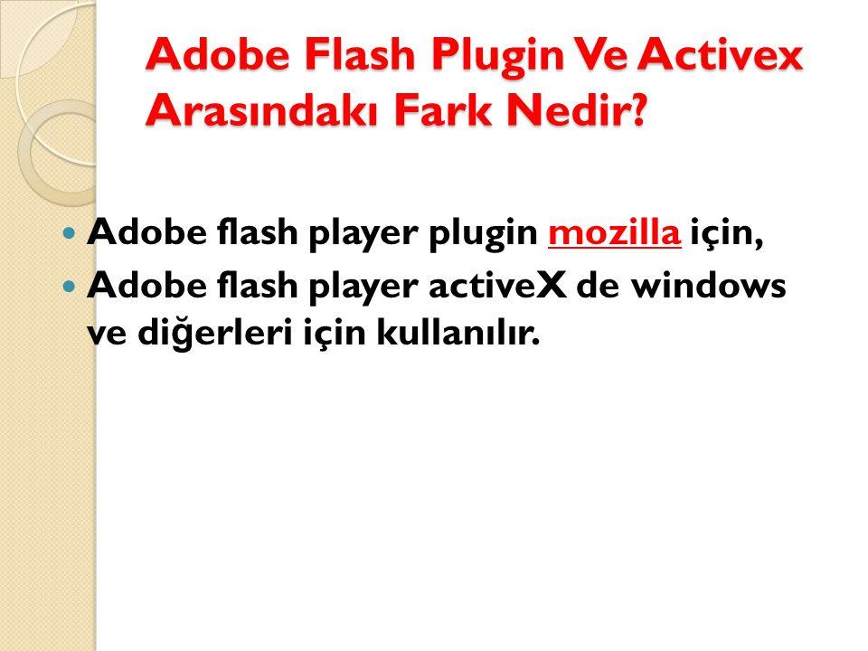 Adobe AIR nedir . Sistemimize Virus, Spyware veya Malware bulaşmışsa onarılması gerekmektedir.