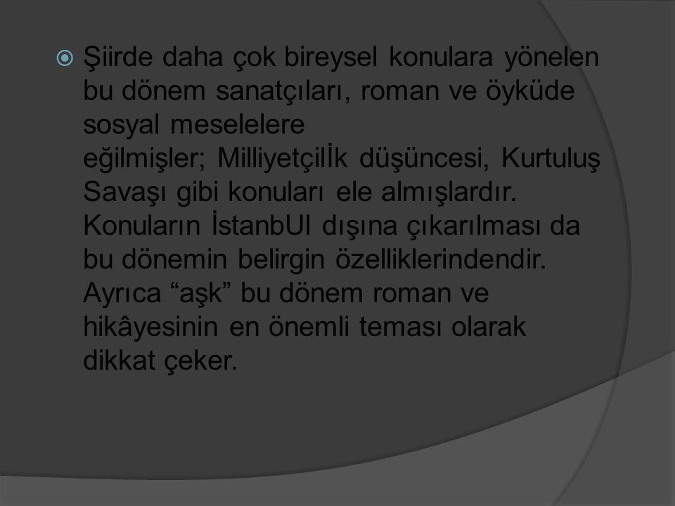 Refik Halit Karay (1888-1965)  Millî Edebiyat ve Cumhuriyet döneminin en ünlü öykü ve roman yazarlarındandır.