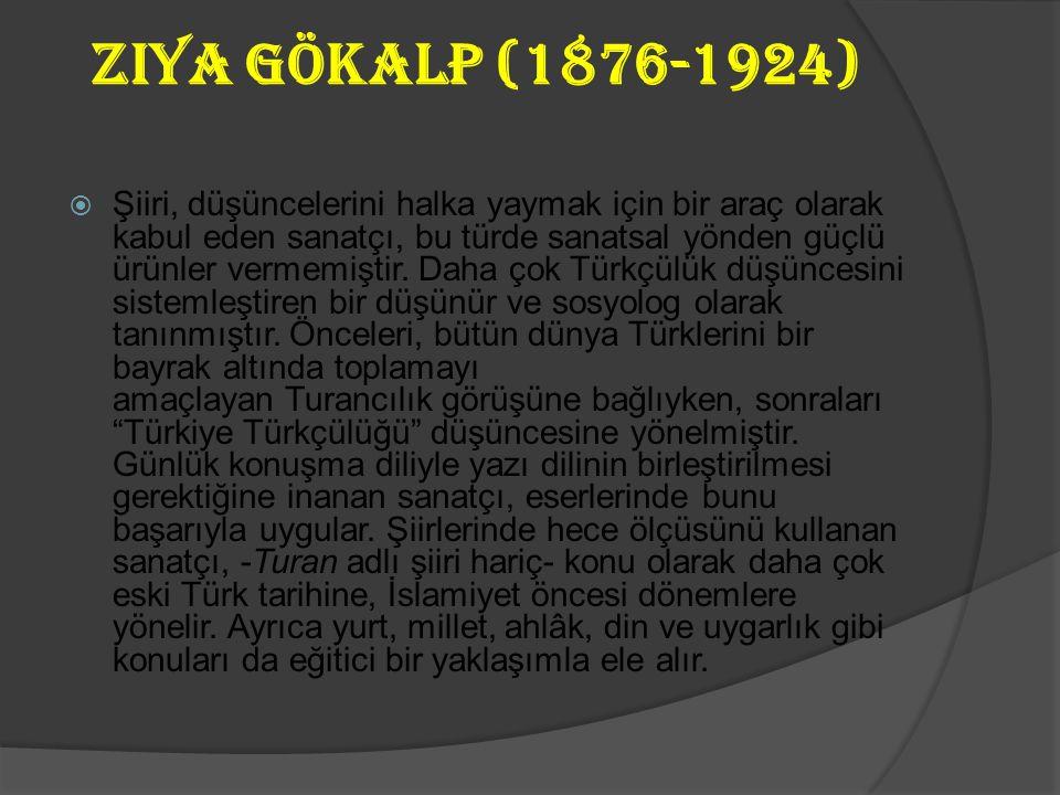 Mehmet Fuat Köprülü (1890-1966)  Türk Edebiyatı araştırmalarını sistemleştiren ve edebiyat tarihçisi olarak ün kazanan sanatçının eserleri de bu yoldadır.