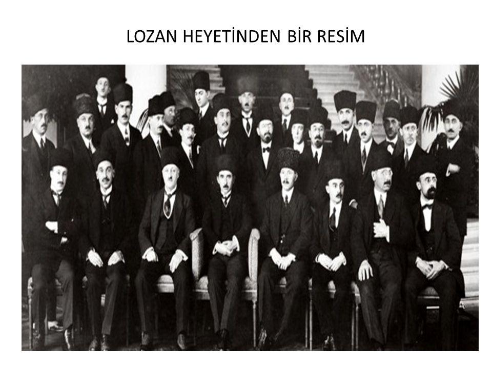 LOZAN HEYETİNDEN BİR RESİM
