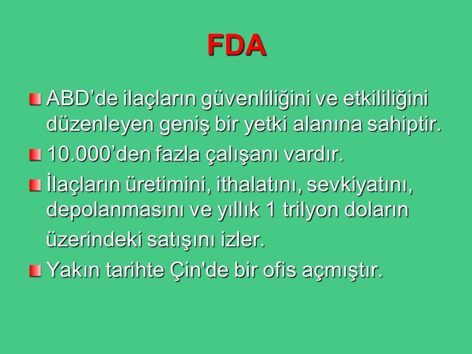 EMA ve PMDA Avrupa İlaç Kurumu (European Medicines Agency, EMA), Avrupa Birliği'ndeki 27 ülkede ilaçları denetim altına alan bir Avrupa Birliği kurumudur.