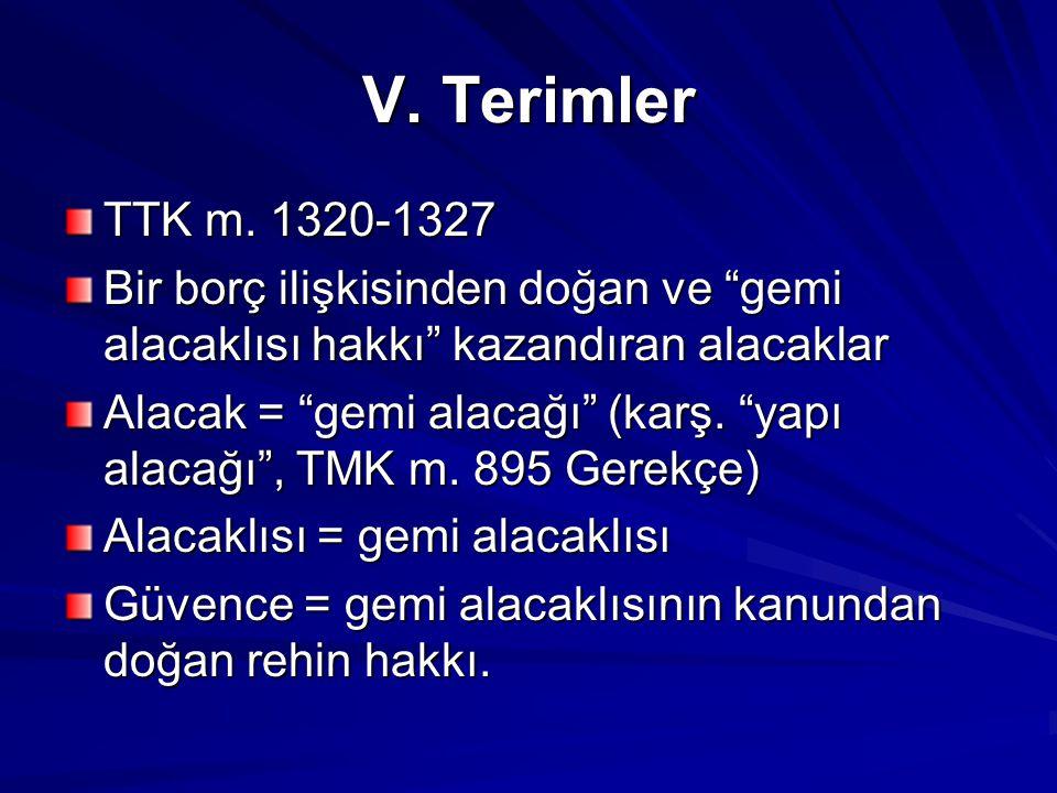 V.Terimler TTK m.