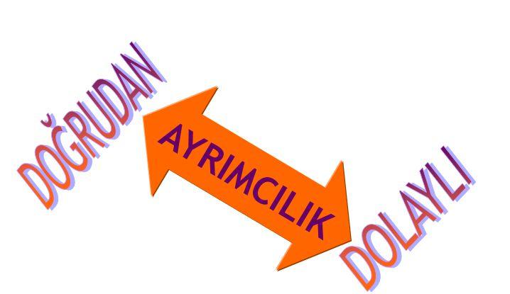 AYRIMCILIK