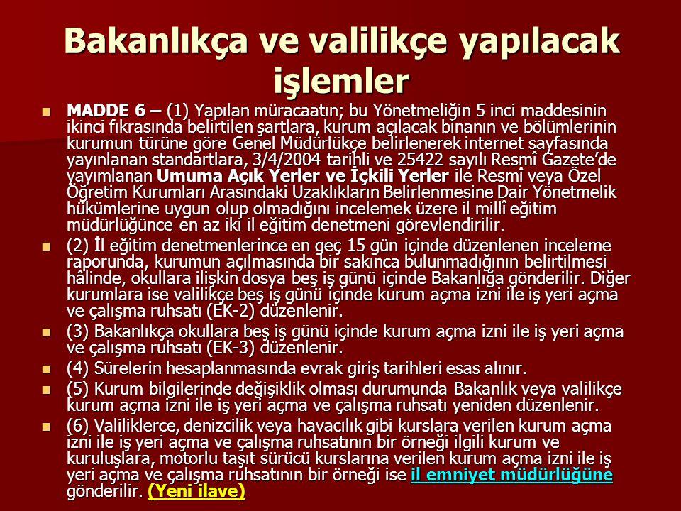 Ad verme MADDE 7 – (1) Kurumlara, 1739 sayılı Kanunda belirtilen Türk millî eğitiminin genel ve özel amaçları ile temel ilkeleri doğrultusunda kurumun amacına ve düzeyine uygun ve belli bir anlam taşıyan ad verilir.