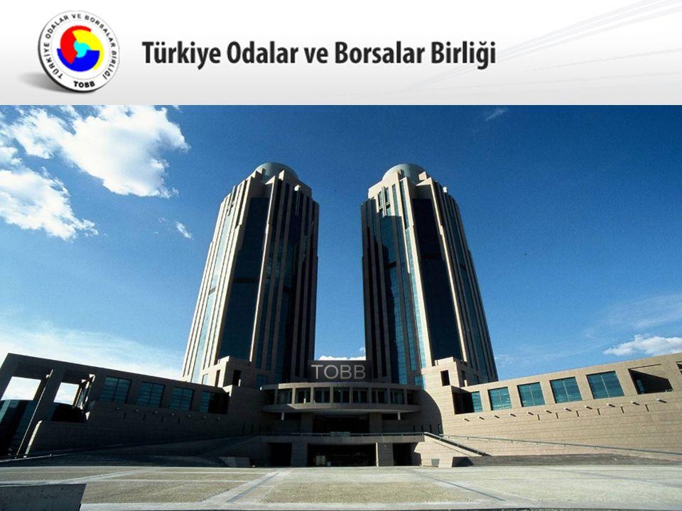 134 ülke ve 8.000 firma Türk Oda Sisteminin Pozisyonu : ICC Yönetim Kurulu Üyesi- Sn.