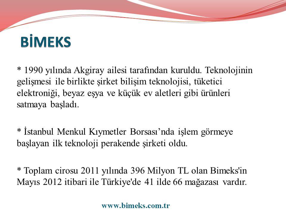 * 1990 yılında Akgiray ailesi tarafından kuruldu.