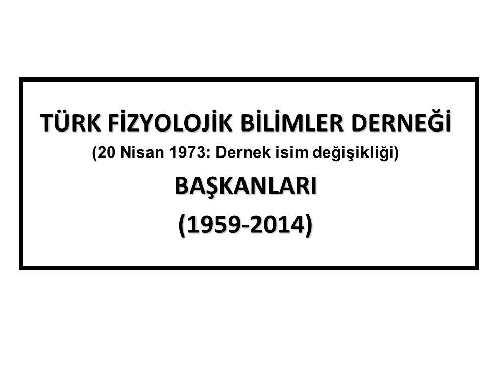 Prof.Dr. Mehmet AKÇAY (1959-1972) Prof. Dr. Orhan ANDAÇ (1972-1980) Doç.