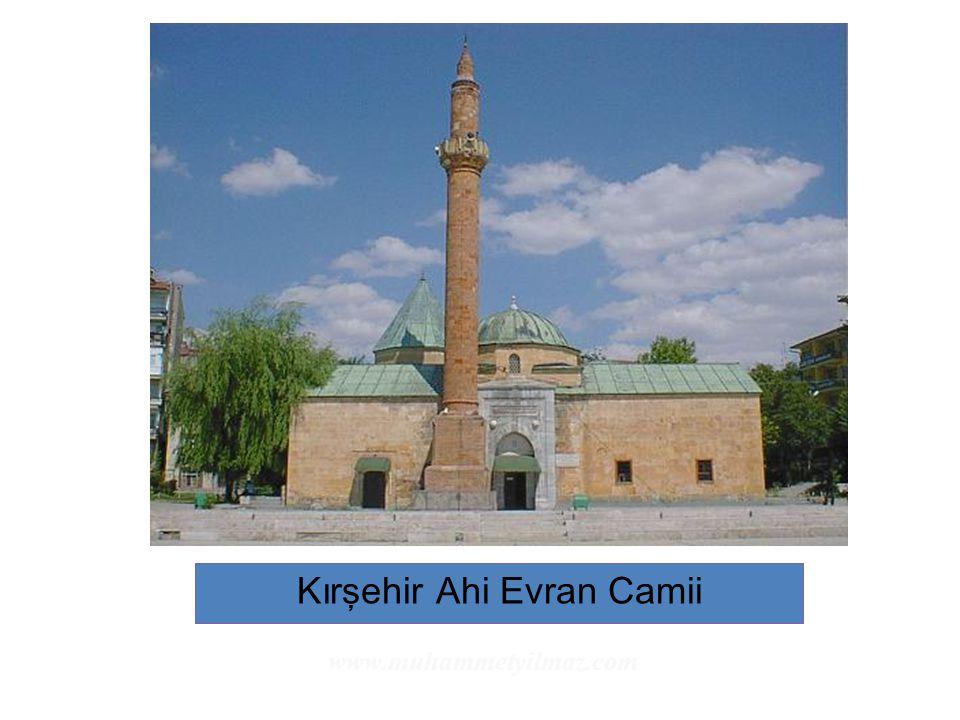 Kırşehir Ahi Evran Camii www.muhammetyilmaz.com