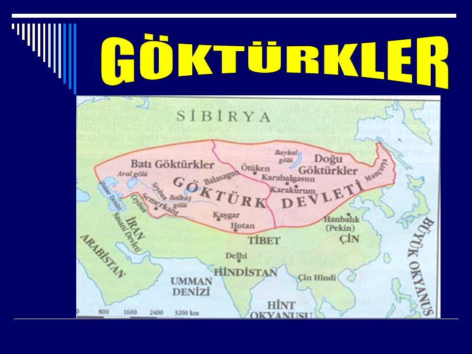 -Türk adı ile kurulan ilk devlettir. Necdet YILMAZ Sosyal Bilgiler Öğretmeni 2008