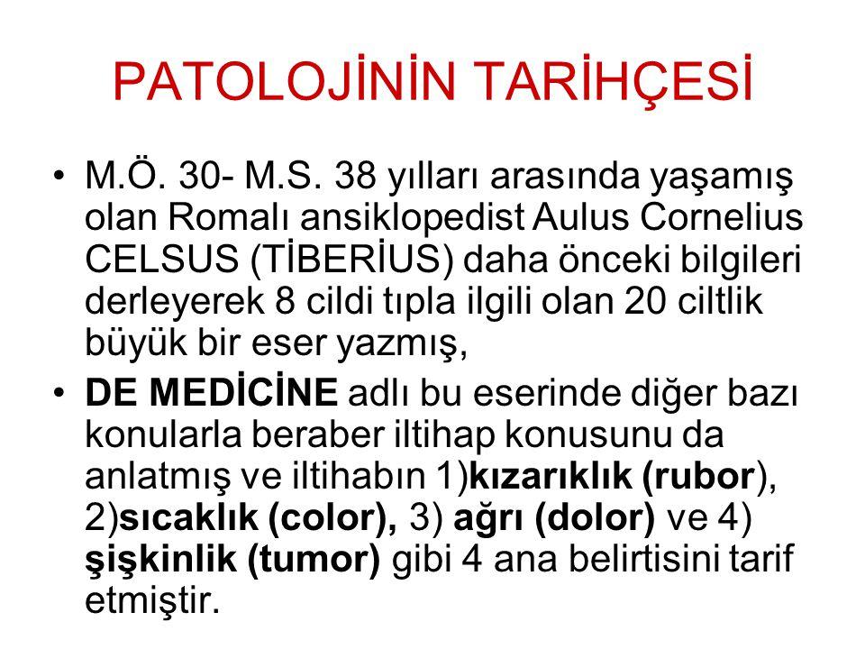 Patolojik anatomi kürsüsünün başında, 1933'ten 1953'e kadar aralıksız 20 yıl başarılı hizmetler veren Prof.