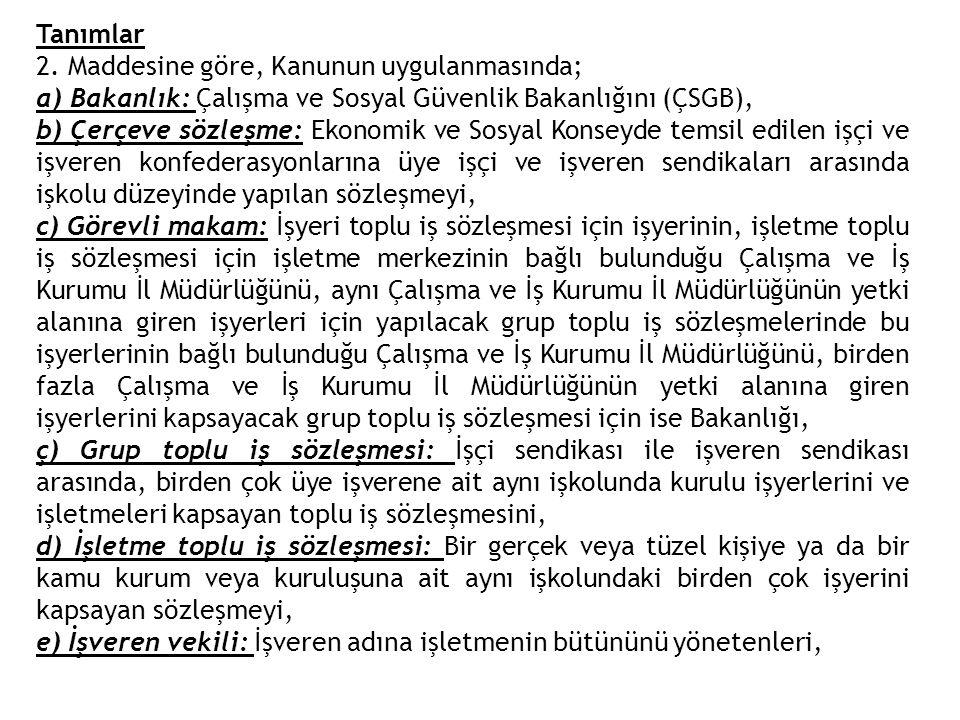 (3) Grevin uygulanmasına son verilmesi lokavtın, lokavtın uygulanmasına son verilmesi grevin kaldırılmasını gerektirmez.