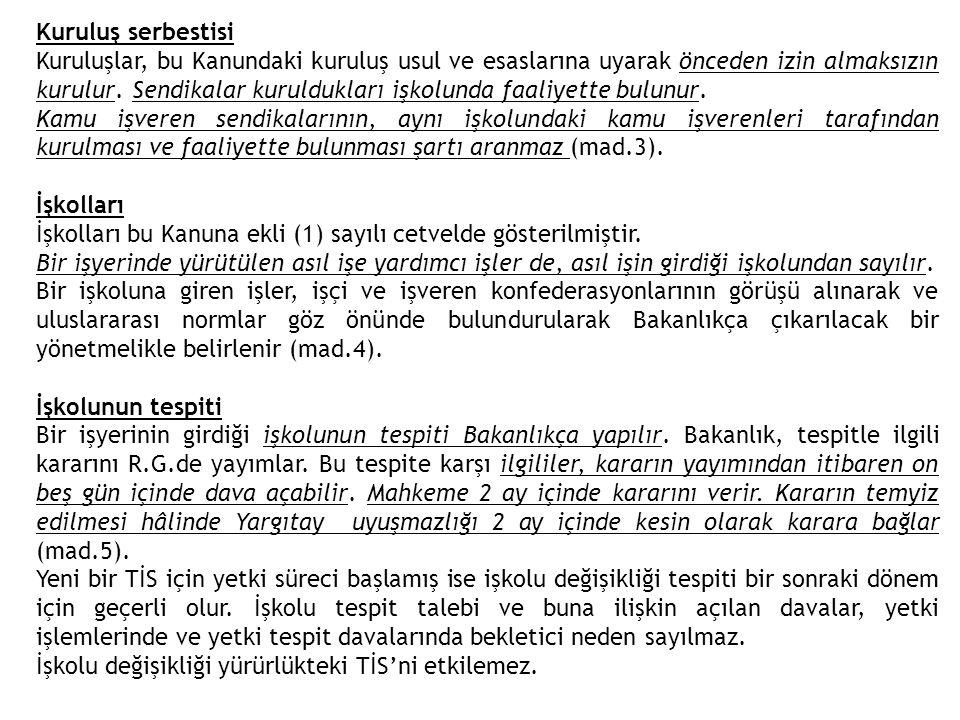 ğ) Grev veya lokavtın mahkeme kararıyla sürekli veya geçici, tamamen veya kısmen yasaklanmasına rağmen, kararı kaldırmayanlar, uygulamaya devam edenler, devamına teşvik edenler, zorlayanlar, katılan ve katılmaya devam edenler fiilleri daha ağır bir cezayı gerektirmediği takdirde beşbin Türk Lirası, h) Greve katıldıkları veya lokavta maruz kaldıkları hâlde, grev veya lokavtın uygulandığı işyerlerinden ayrılmayanlar ile işçileri bu eylemlere zorlayan veya teşvik edenler fiilleri daha ağır bir cezayı gerektirmediği takdirde yediyüz Türk Lirası, ı) 65 inci maddede belirtilen izni almadan yeni işçi alan işveren, izinsiz aldığı her bir işçiyle ilgili olarak yediyüz Türk Lirası, i) 68 inci madde hükmüne aykırı olarak grev yapan işçilerin yerine işçi çalıştıran işveren veya işveren vekili, aldığı her bir işçiyle ilgili olarak binbeşyüz Türk Lirası, j) İşçi sendikasının üyesi olmayan grev gözcüleri ile 73 üncü madde hükümlerine aykırı davranan grev gözcüleri binbeşyüz Türk Lirası,idari para cezası ile cezalandırılır.