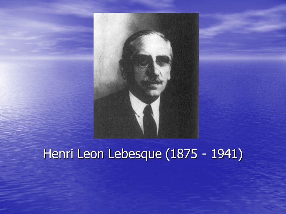 Henri Leon Lebesque (1875 - 1941)