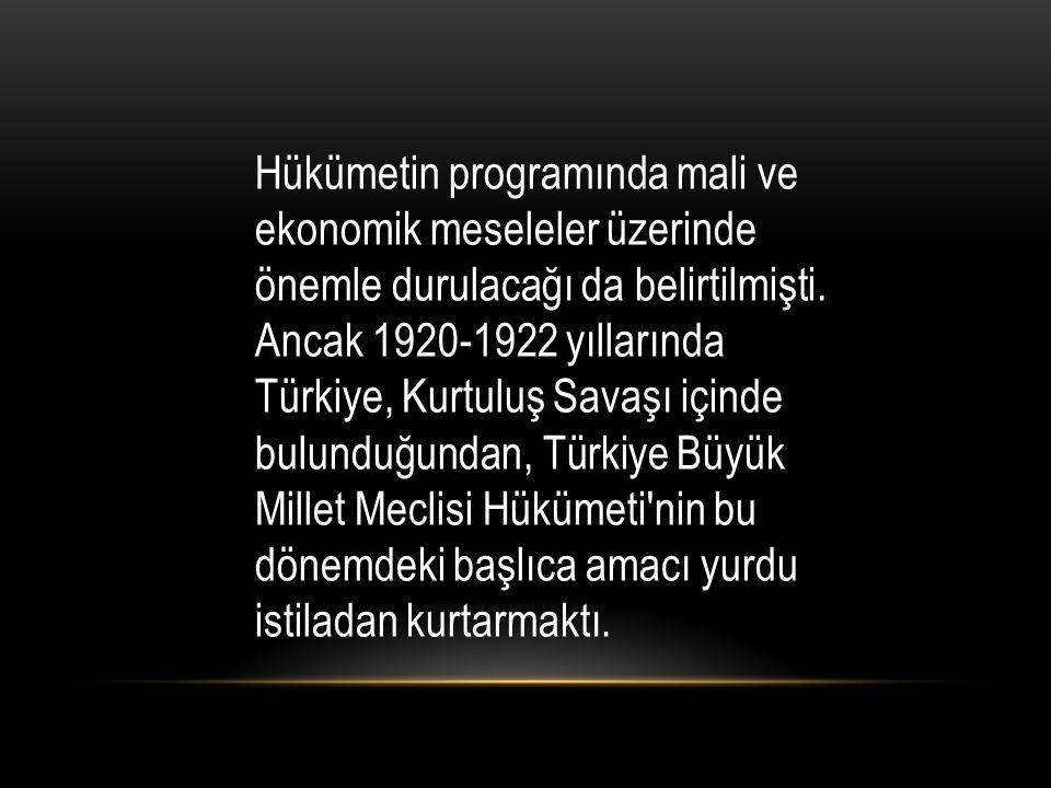 1933 - 1938 yılları arasında, İzmir İktisat Kongresi'nde alınan Misak-ı İktisadi kararlarının temel amacı olan özel girişimciyi sanayi alanına çekmek mümkün olmadı.