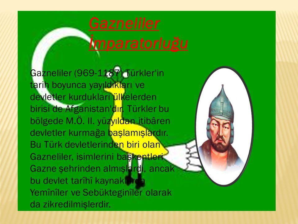 Karahanlı İmparatorluğu Karahanlı Devleti 840-1212 tarihleri arasında, Türkistan ve Maveraünnehir'de hâkimiyet kuran ilk Müslüman Türk devleti.Karluk,