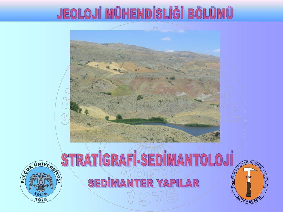 Konkresyon : Aynı bileşimdeki daha yumuşak sedimentler içindeki belirgin sınırları olan sert kaya kütleleridir.