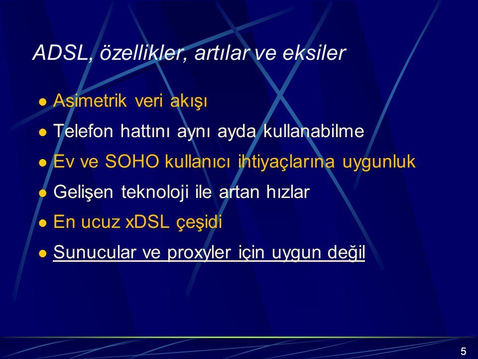 xDSL kullanarak çok düşük maliyetle müşterilerine E-1 ve T-1 kiralık hatları sağlayabilmektedir.