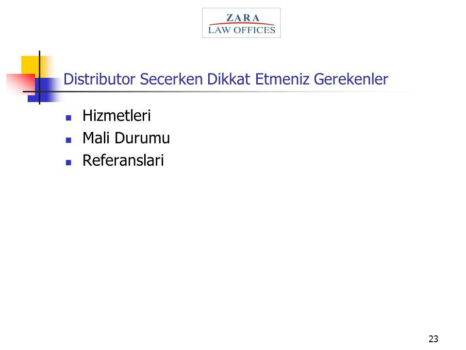 23 Distributor Secerken Dikkat Etmeniz Gerekenler Hizmetleri Mali Durumu Referanslari
