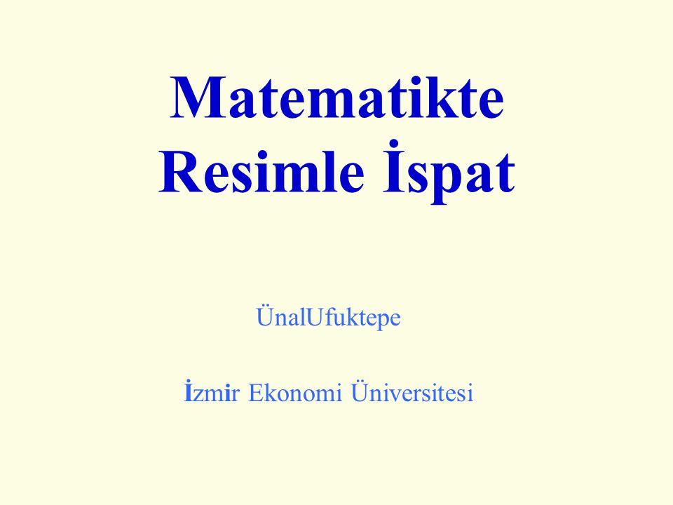 Matematikte Resimle İspat ÜnalUfuktepe İzmir Ekonomi Üniversitesi
