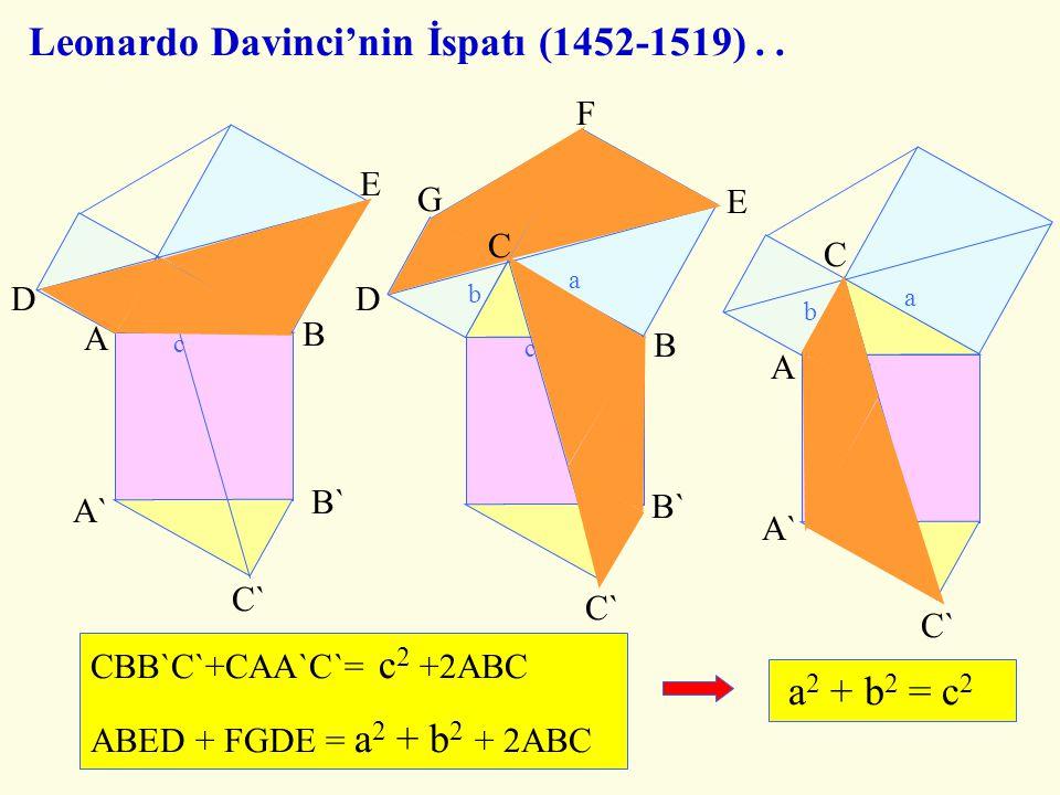 C B A D C B A D C B D A 8 8 8 21 21  21 = 441 13  34 = 442