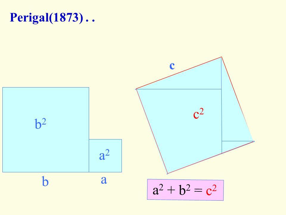 Leonardo Davinci'nin İspatı (1452-1519).. a b c a b c a b c A C` B` A` G F E D C B C B B` C` A` A C` D E CBB`C`+CAA`C`= c 2 +2ABC ABED + FGDE = a 2 +