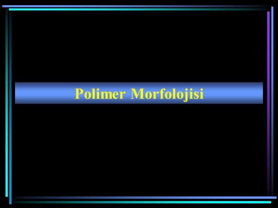 Polimer Morfolojisi