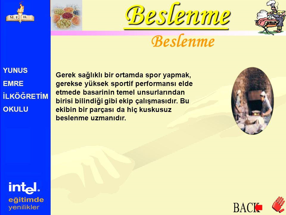 YUNUS EMRE İLKÖĞRETİM OKULU Türk Mutfağı Türk kültüründe gelenekselliğini hemen hiç bozulmadan sürdüren önemli bir dal da geleneksel sofra kültürüdür.