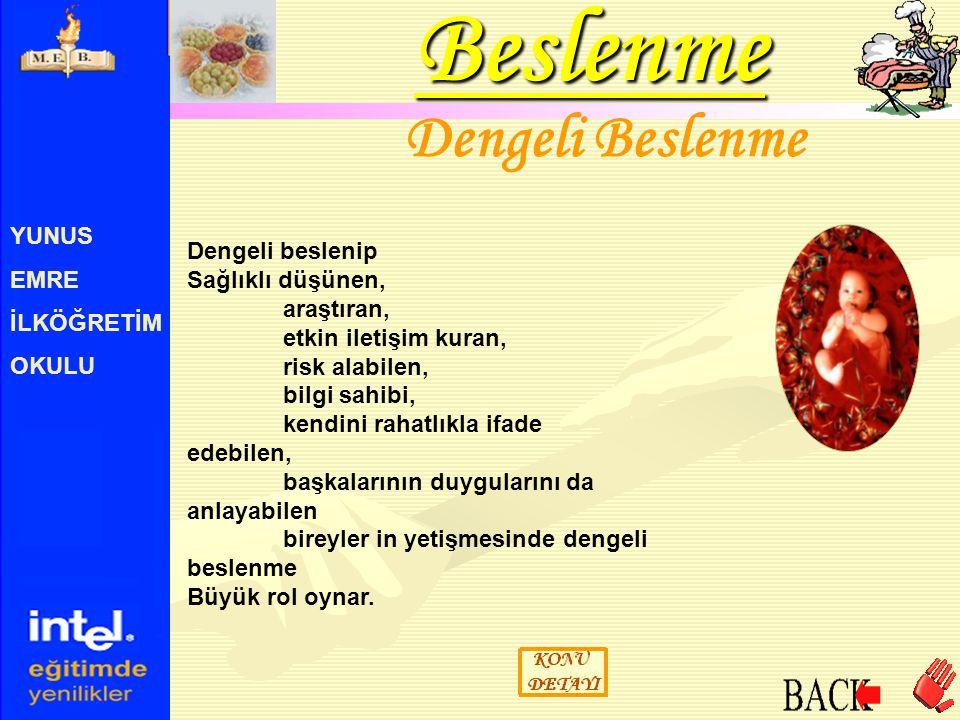 YUNUS EMRE İLKÖĞRETİM OKULU B1 Vitamini Birçok çeşidi bulunan B grubu vitaminlerin, önemli olan 12 si alınan besinlerde bulunan B1, B2 ve B3 vitaminlerin bulunmaktadır.