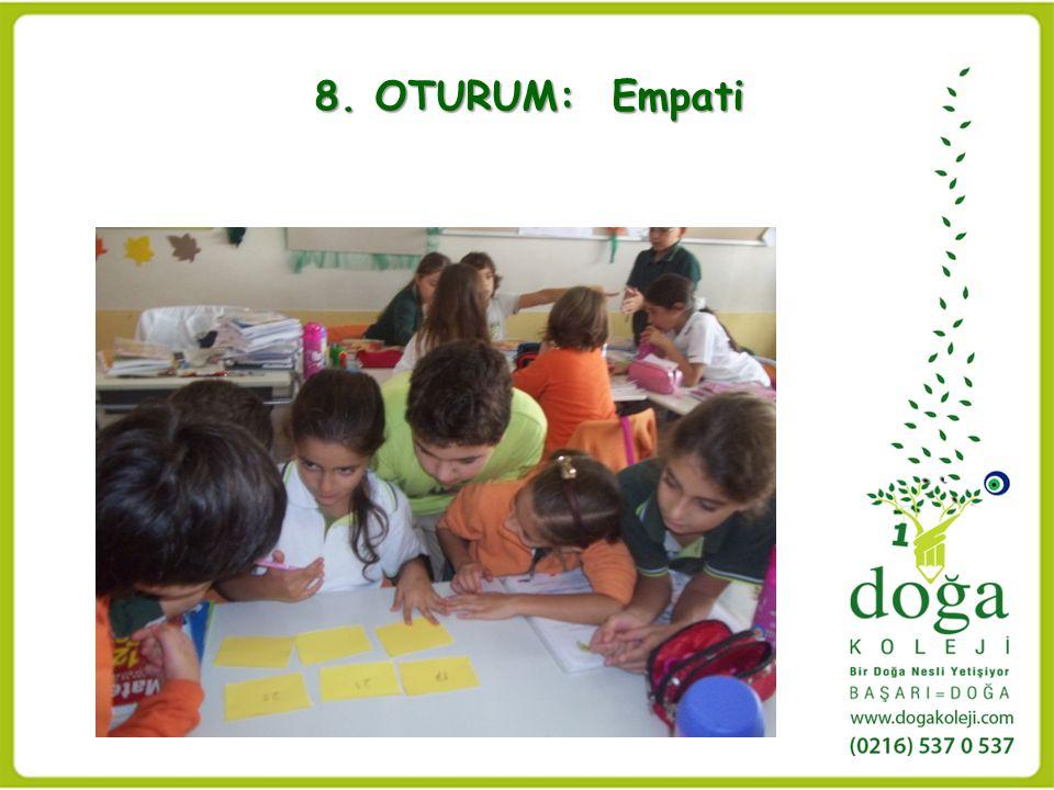 8. OTURUM: Empati 8. OTURUM: Empati