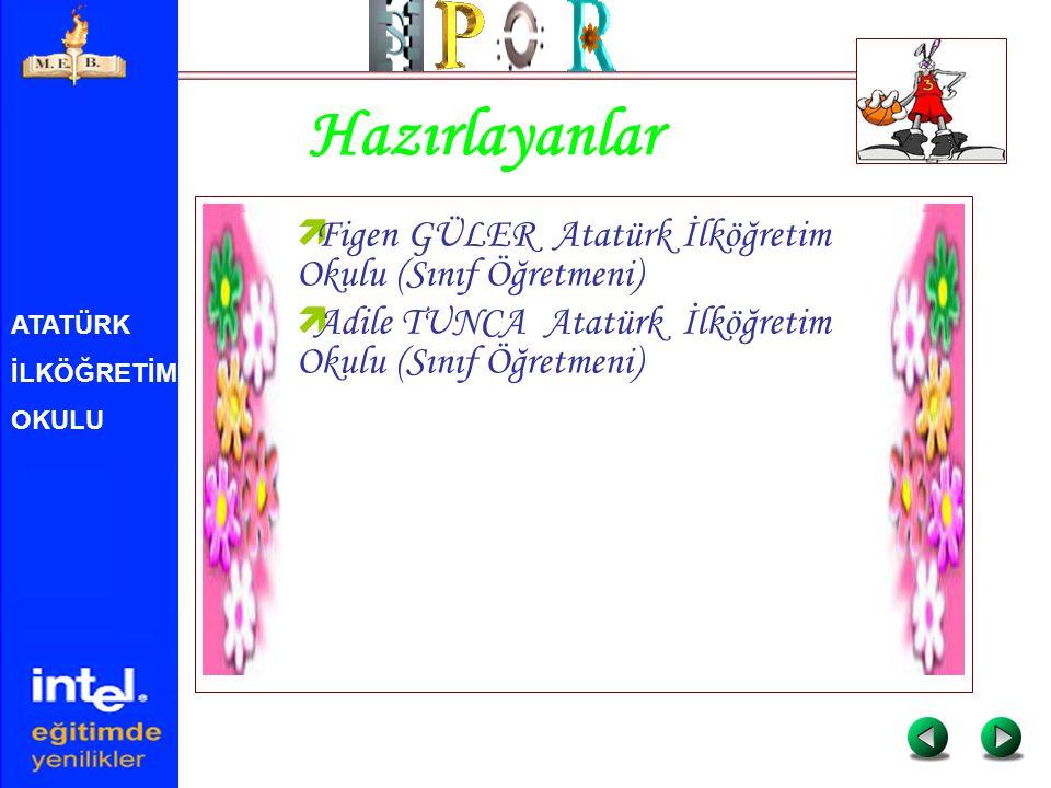 ATATÜRK İLKÖĞRETİM OKULU Hazırlayanlar  Figen GÜLER Atatürk İlköğretim Okulu (Sınıf Öğretmeni)  Adile TUNCA Atatürk İlköğretim Okulu (Sınıf Öğretmen