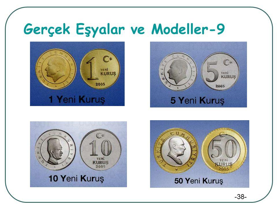 -38- Gerçek Eşyalar ve Modeller-9