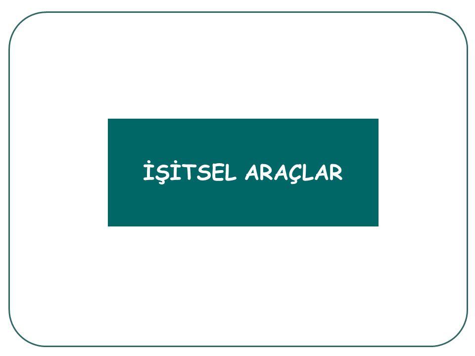 İŞİTSEL ARAÇLAR
