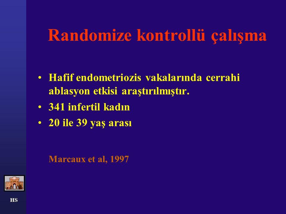 HS Bu sonuçları konfirme etmek için randomize çalışmalara ihtiyaç vardır.