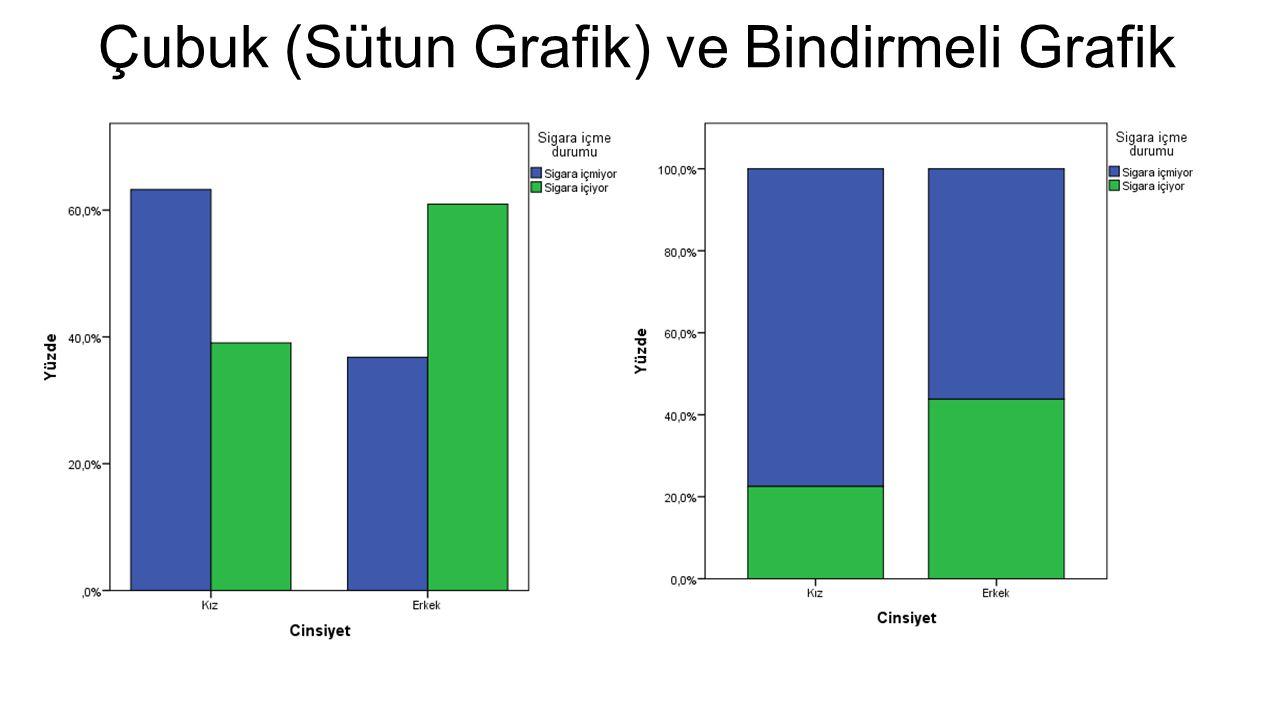 Çubuk (Sütun Grafik) ve Bindirmeli Grafik