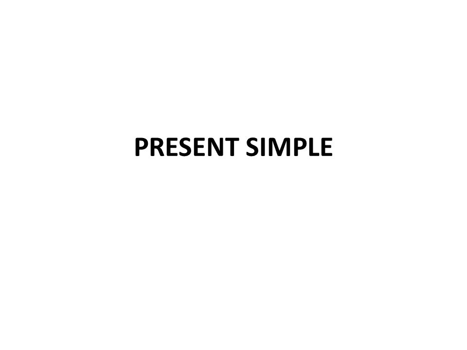 Present Simple Tense Structure AFFIRMATIVE FORM AFFIRMATIVE FORM I you work we they he/she/it works /-s/