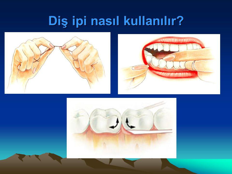 Diş ipi nasıl kullanılır?