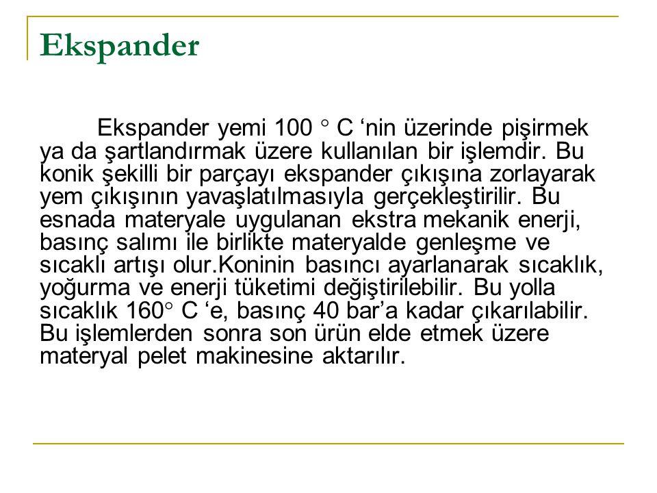 Ekspander Ekspander yemi 100  C 'nin üzerinde pişirmek ya da şartlandırmak üzere kullanılan bir işlemdir.