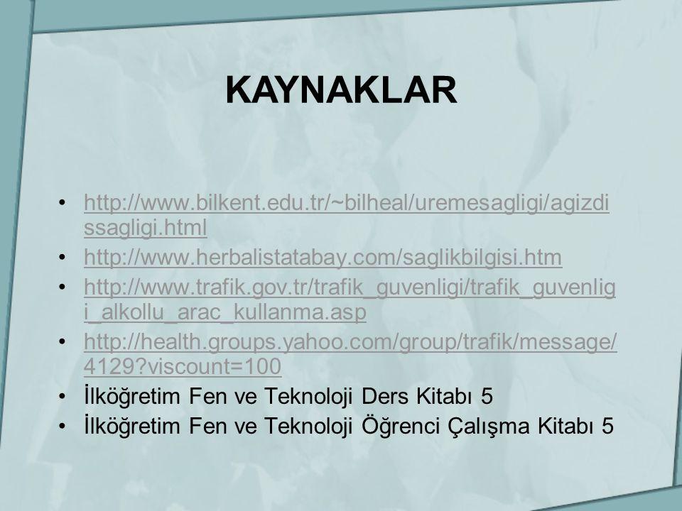 http://www.bilkent.edu.tr/~bilheal/uremesagligi/agizdi ssagligi.htmlhttp://www.bilkent.edu.tr/~bilheal/uremesagligi/agizdi ssagligi.html http://www.he