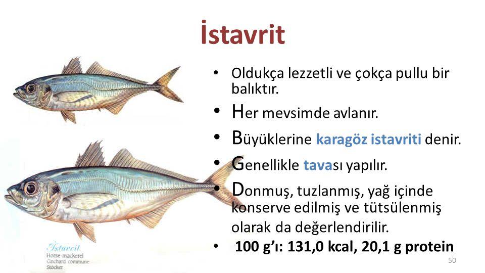 İzmarit Balığı D ip balığıdır.Eti beyaz ve lezzetlidir.