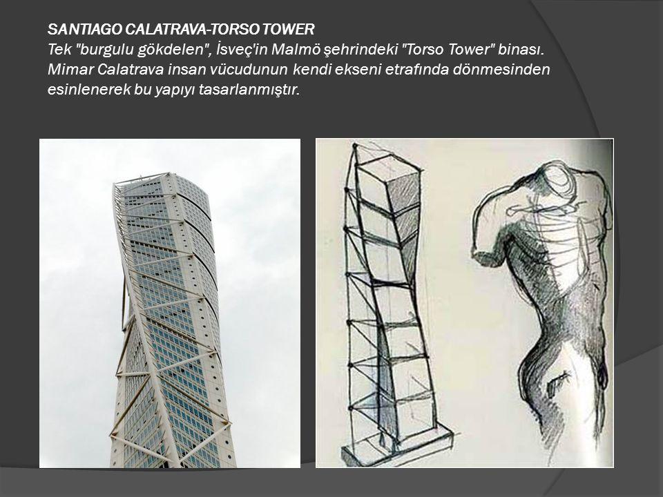 SANTIAGO CALATRAVA-TORSO TOWER Tek