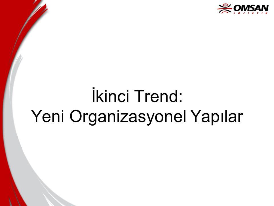 İkinci Trend: Yeni Organizasyonel Yapılar